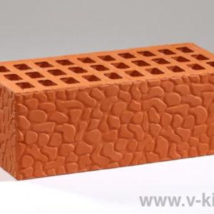 Кирпич лицевой керамический утолщенный красный черепашка М150 ГОСТ 530-2012