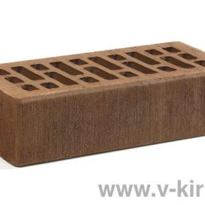 Кирпич лицевой керамический одинарный терракотовый бархат М150 ГОСТ 530-2012