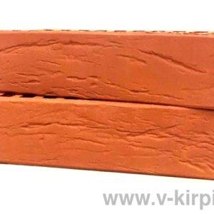 Кирпич лицевой керамический одинарный красный М150 винтаж ГОСТ 530-2012