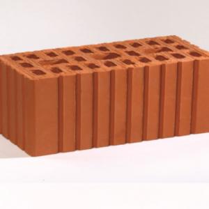 Кирпич рядовой керамический утолщенный красный рифленый М150 ГОСТ 530-2012