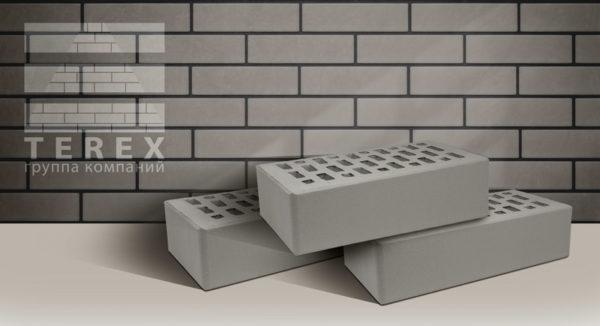 Кирпич TEREX Серый 1 NF