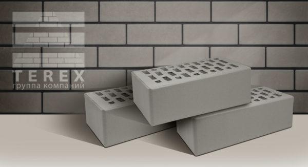 Кирпич TEREX Серый утолщенный 1,4 NF